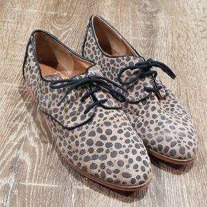 Dolce Vita Kyle leopard oxford flats 8.5